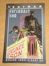 Batman suerte hijo Gerard Jones Gene ha Tapa Dura Dc Comics GN 1563895781