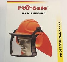 PROFESSIONAL Chainsaw Brushcutter FULL safety helmet Complete.  RRP$75