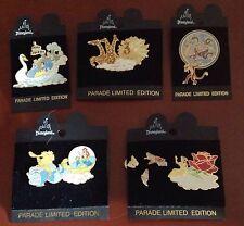 Disneyland  45th Anniversary LE 5 pins, princesses, Ariel, Belle, Nala, Mushu