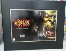 WARCRAFT 3 REIGN OF CHAOS - Collector's Edition VERSIONE ITALIANA PC COME NUOVO