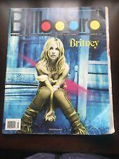 Billboard Magazine 11/10/2001 Britney Spears Jewel George Strait Shakira Manilow