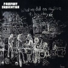 FAIRPORT CONVENTION - WHAT WE DID ON OUR HOLIDAY (REMASTERED)  CD  POP  NEW+
