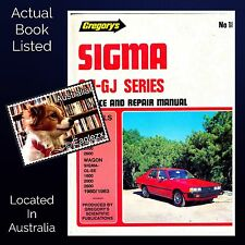 Gregory's Sigma GH - GJ Series No 189 Service And Repair Manual Hardcover 4th Ed
