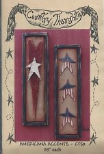 AMERICANA ACCENTS ~ COUNTRY THOUGHTS - wood craft pattern