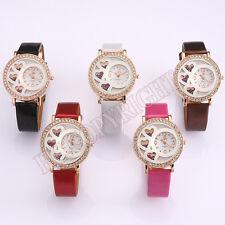 Exquisite Ladies Watch Womens Loving Heart Quartz Analog Bracelet Wrist Watch