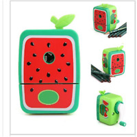 Colorful Pencil Sharpener Hand Crank Manual School Stationery for Kids students