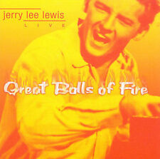 Great Balls of Fire by Jerry Lee Lewis (CD, 2002)