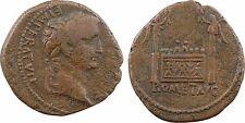 Dupondius ou as, Tibère, Lyon 8-10, RARE - 45