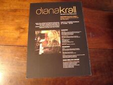 DIANA KRALL GIRL OTHER ROOM!!!!!!!RARE FRENCH PRESS/KIT