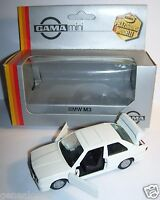 RARE GAMA MADE IN GERMANY BMW M3 BLANCHE REF 1153 1/43 IN BOX