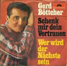 "Gerd Böttcher Schenk Mir Your Trust 7 "" Vinyl S4048"