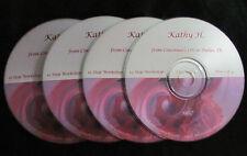 12 Step Workshop * 4 CD set * Al-Anon Speaker Kathy H