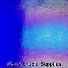 Bullseye Deep Royal Blue Irid Kiln Fusing Glass 1114-31
