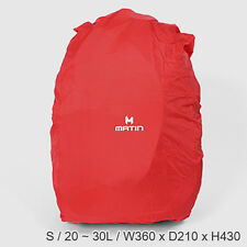 MATIN Rain Cover (Small) Outdoor Camping Hiking Backpack Rucksack Waterproof Bag