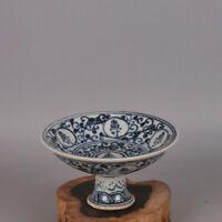 Chinese old porcelain Blue and white Shouzi Gaozu Bowl Porcelain Plate