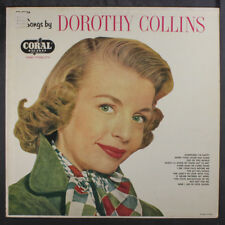 DOROTHY COLLINS: Songs By LP (Mono, some foxing obc, sm toc) Vocalists