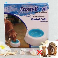 Hundenapf Katzennapf Eis Behälter Frischhaltung Hunde Fütterung  Sommer Haustier