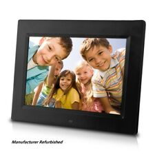Sungale 8-Inch Digital Photo Frame, Play Music Video CD802 - Refurbished