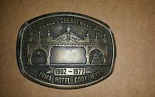 $ 100,000 CHERRYWOOD BAR BELT BUCKLE