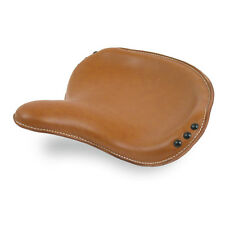 Solo Seat Bobber WLA Military Style, Real Leather Brown, Harley - Davidson