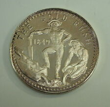 1849 The Gold Rush Sterling Silver Collectable Coin