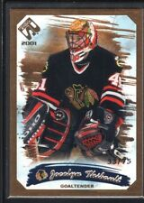 JOCELYN THIBAULT 2000/01 PRIVATE STOCK #20 GOLD PARALLEL BLACKHAWKS SP #33/75