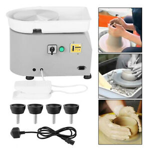 350W Electric Pottery Wheel Machine For Ceramic Work Clay Art Craft Molding DIY