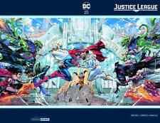 JUSTICE LEAGUE 20 C2E2 SILVER FOIL VARIANT NM