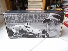 Williams Bmw FW23 Ralf Schumacher Imola 1st win #5 1/18 Hotwheels 2001 F1