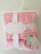 NWT Ralph Lauren Baby Girl's Blanket Pink