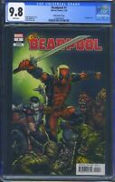 Deadpool 1 (Marvel) CGC 9.8 White Pages Kelly Thompson story Finch Variant
