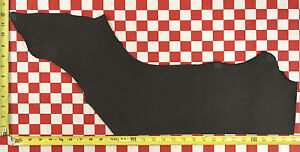 """HORWEEN BLACK OIL TAN 6 to 7 oz. LEATHER HIDE CUT 28""""x12"""" NAT. QUALITY"""
