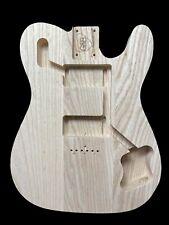 Telecaster Guitar Body/1972 Deluxe Vintage body/ Ash /3pc/2kg /0403T1