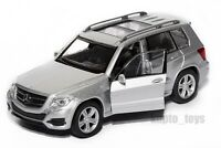 Mercedes Benz GLK Silver, Welly scale 1:34-39, model toy car gift