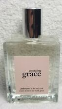 Philosophy AMAZING GRACE Fragrance Spray Eau De Toilette Women  2 oz/60mL New
