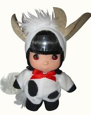 """Precious Moments 5.5"""" Mooo a Doodle Doo Cow Doll New with tags"""