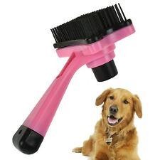 Pet Dog Cat Grooming Small Self Cleaning Brush Plastic Bristles Healthy Fur Hair