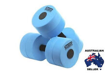 Water Aerobics Dumbbells X 2 Water Fitness Heavy Resistance Pool Exercise 6014