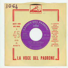 "JEAN-CLAUDE PASCAL: Nous Les Amoureux / Toi - 7""  ITALY 1961 - Eurovision winner"