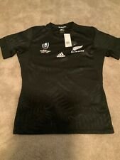 adidas All Blacks Authentic Rugby World Cup Japan Jersey 2019 Size L Dy3779