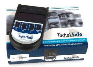 Tacho2Safe Downloadkey inkl. Software - Auslesegerät Fahrerkarte und Tachograph