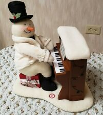 Hallmark Jingle Pals Plush Piano Playing Singing Snowman 2005