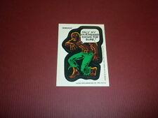 WEREWOLF BY NIGHT Marvel Comics Super Hero STICKER 1974/1975 Topps