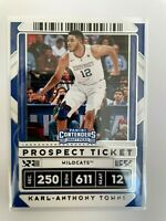 2020 Panini Contenders Draft Picks Karl-Anthony Towns #36 Basketball Card
