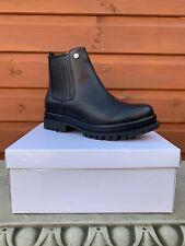 Ladies Black Boots Chelsea Ankle Size 6 NEW Boxed