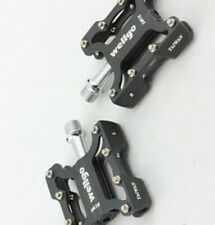 WELLGO 1Pair AL Alloy&Steel Bike Pedals Bicycle Sealed Bearing Flat Pedals 270g