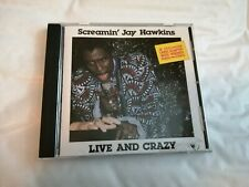 Screamin' Jay Hawkins - Live And Crazy - CD (1989) R&B Funk Soul Blues