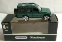 ASDA KIDCONNECTION TURBOS - 2004 LAND ROVER DISCOVERY - GREEN - #6070 - BOXED