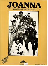 "KOOL & THE GANG ""JOANNA"" SHEET MUSIC-PIANO/VOCAL/GUITAR/CHORDS-1983-NEW ON SALE!"