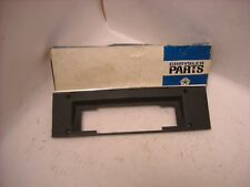 MOPAR NOS 1969 CHARGER SUPER BEE 1970 ROAD RUNNER 8 TRACK AM RADIO FACE PLATE